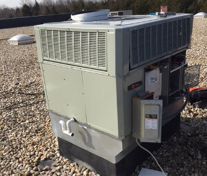 Rooftop AC unit