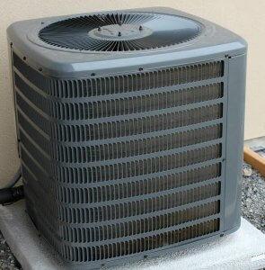Exterior HVAC unit